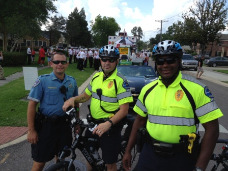 "Sgt ""Pre"" and TPD Bike Patrol"