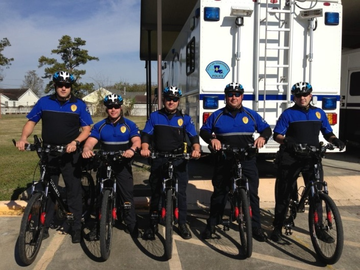Thibodaux Police Bicycle Officers