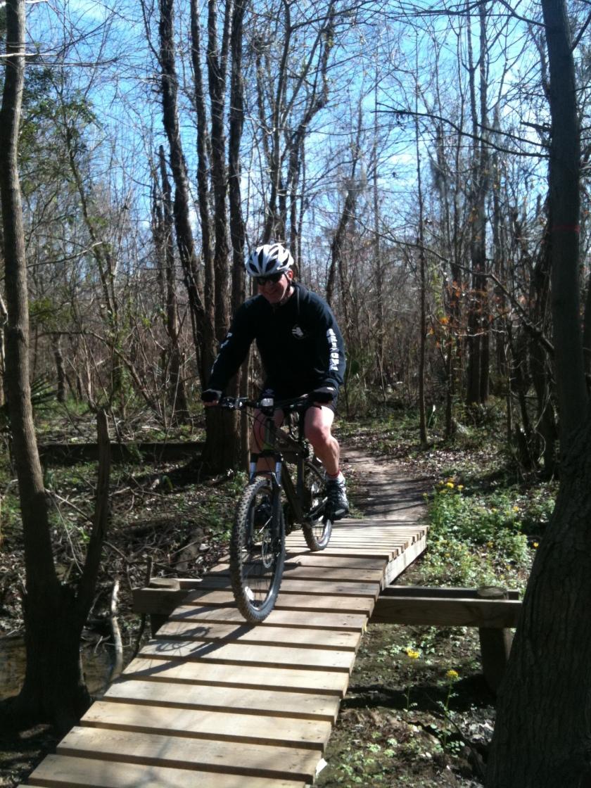 Trail Biking with Friends