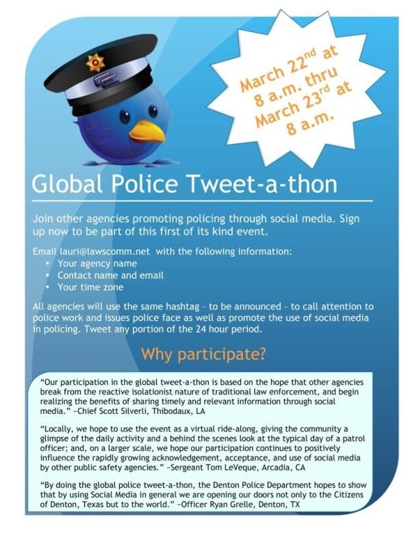 Tweet a thon poster
