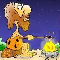 caveman-fire