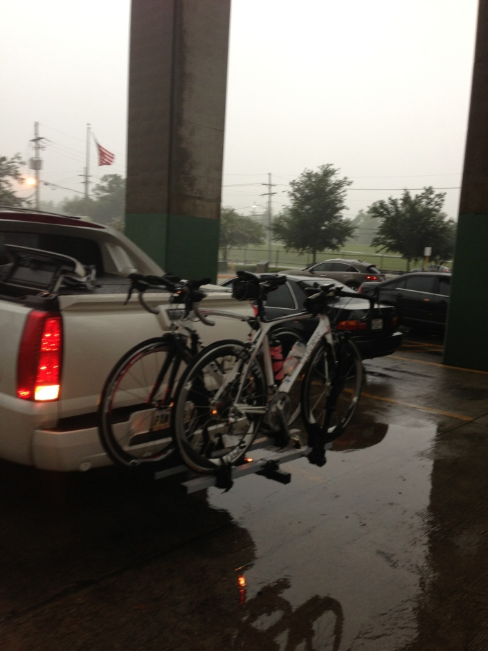 Rainy Day Cycling