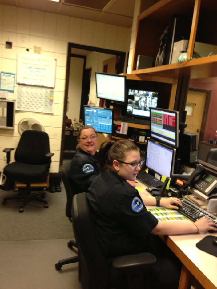 Police Dispatchers - Telling cops where to go for generations