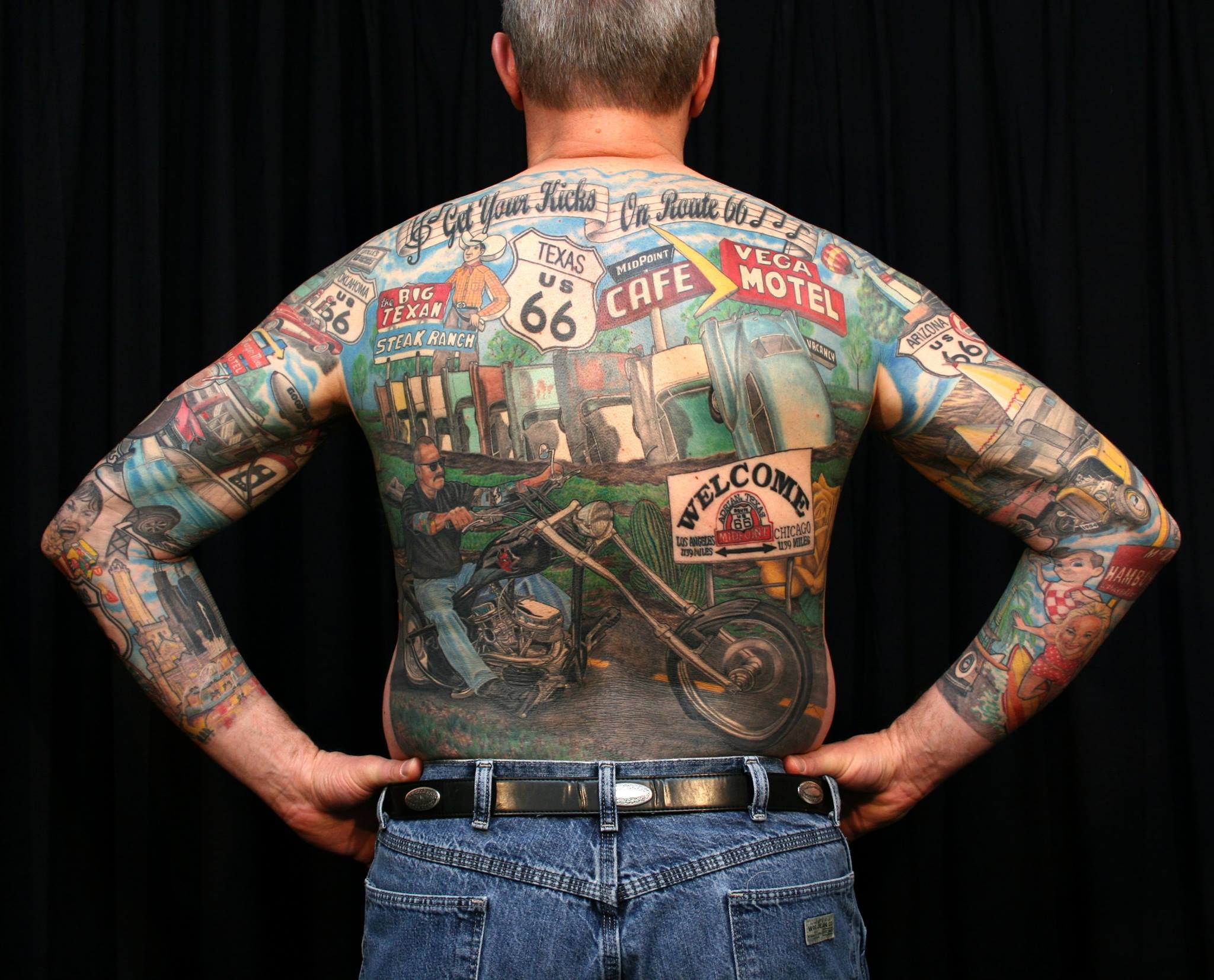 Outlaw biker tattoos images galleries for American outlaw tattoo